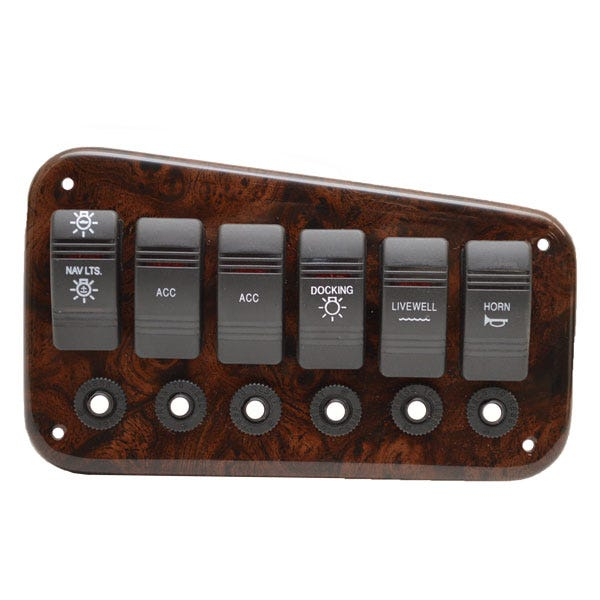Boat Control Panels : Boat switch panels marine electrical