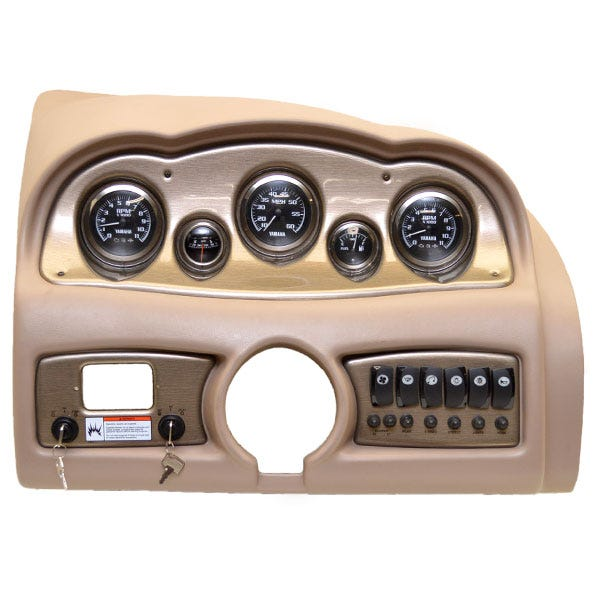 Complete Twin Engine Gauge and Dash Panels