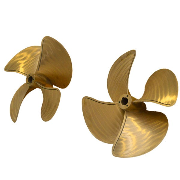 Brass Nibral Inboard Propellers