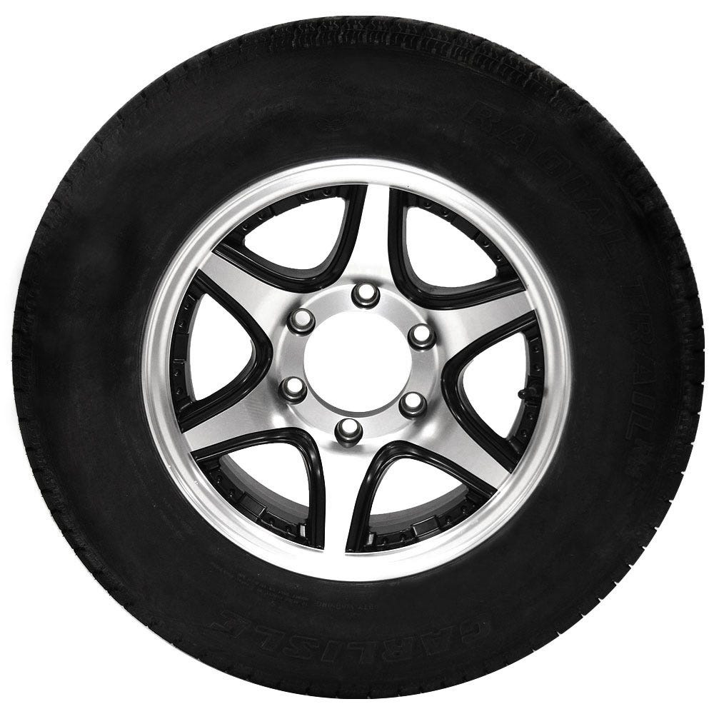 Trailer Tires, Rims and Carriers