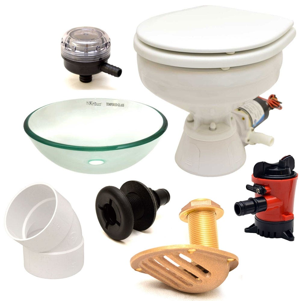 Boat plumbing parts marine supplies