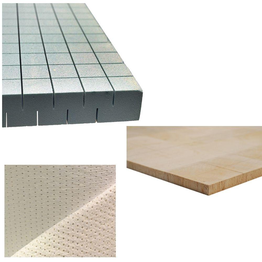 Core Materials and Vacuum Bagging Materials