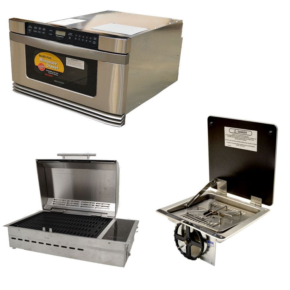 Boat Stoves, Electric Boat Stoves, Boat Microwaves And