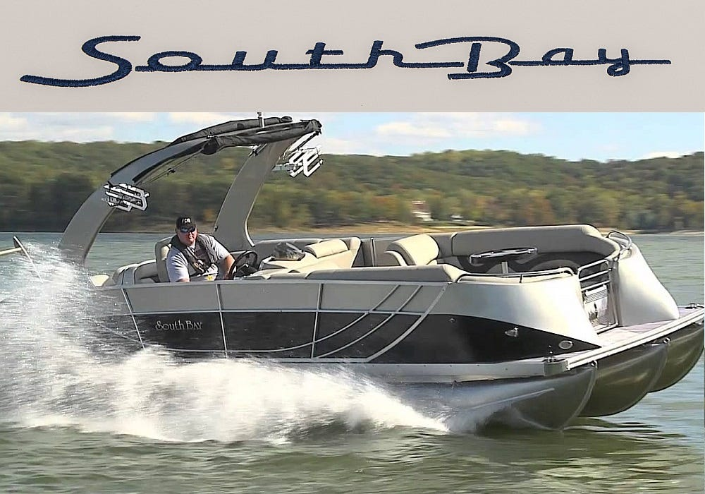 Original South Bay Pontoon Boat Parts Online Catalog Great Lakes - Baja boat decals easy removalremoving vinyl striping from your boat hull youtube