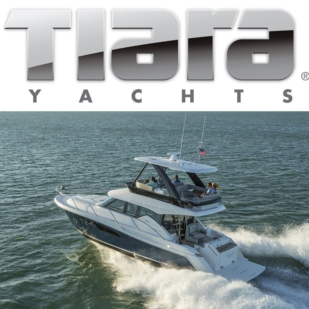 Original Tiara Yachts Parts And Accessories Online Catalog Great - Lund boat decals easy removalgreat lakes fishing boats for sale