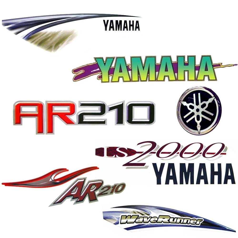 Graphics - Yamaha Decals