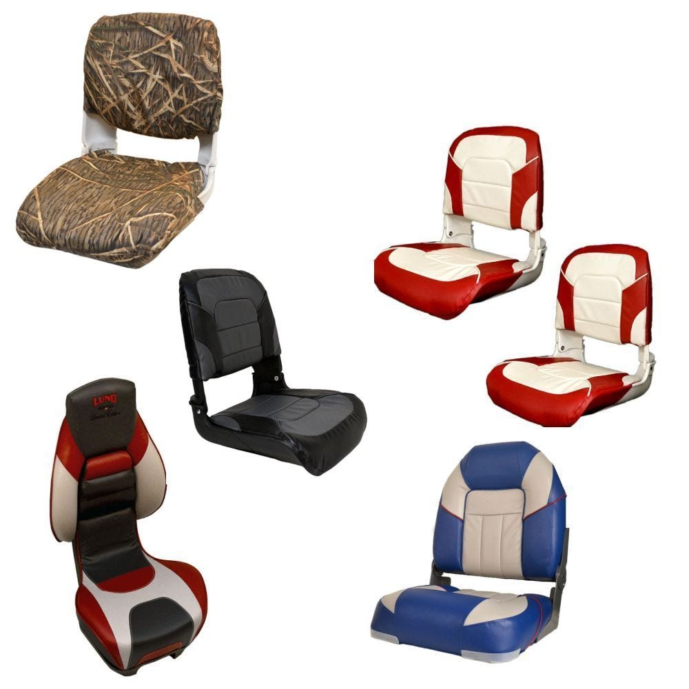 Boat captains chairs - Folding Fishing Seats