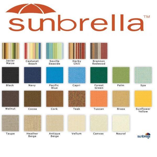 Sunbrella Boat Fabric and Canvas