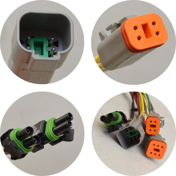 Pin 3wire Female Boat Wiring Harness Adapter Great Lakes Skipper