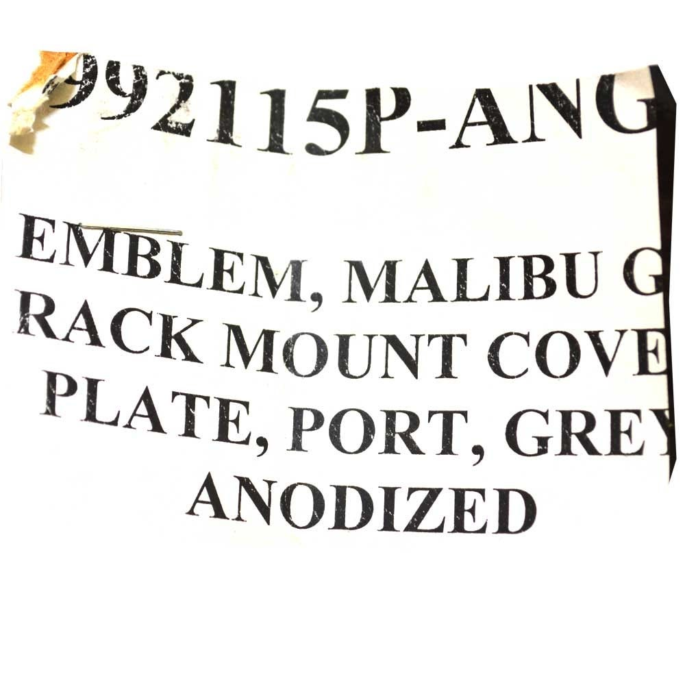 Malibu Boat Rack Cover Plate 5992115P-ANGR | Illusion G3 (Port) on