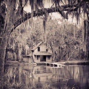 Cabin in Volusia County, Florida.