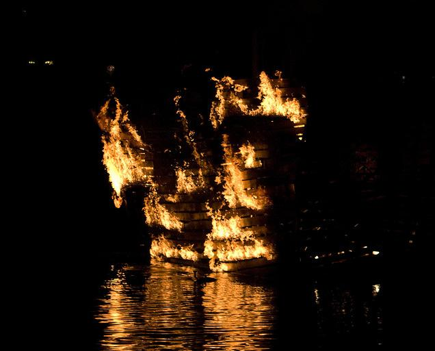 The Burning Ghost Ship of Northumberland Strait