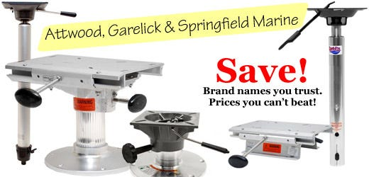 Attwood, Garelick & Springfield Marine - Brand names you trust.