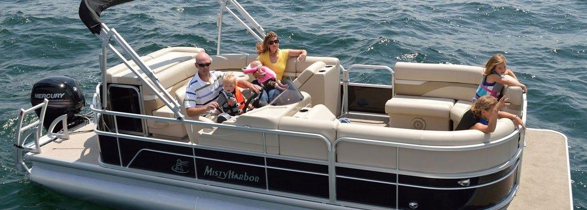Misty Harbor Pontoon Boat