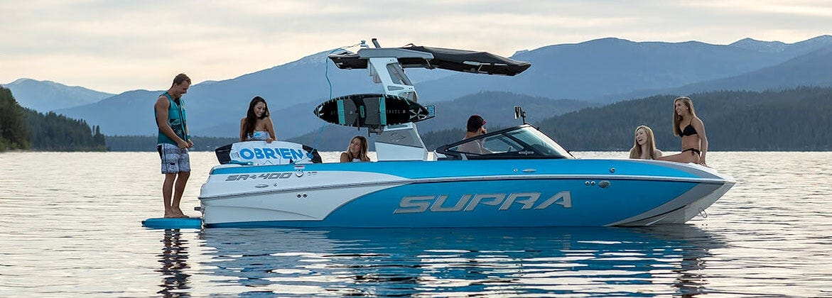 Buy Supra Moomba boats and boat parts on sale
