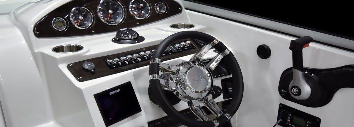 Boat Dash Steering Wheel Dash Paenel Steering Control