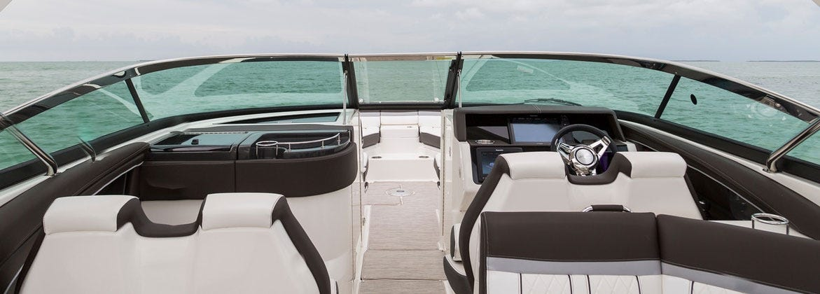 Boat Glass Windshield